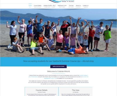 Coláiste Mhichíl - New Website Launched