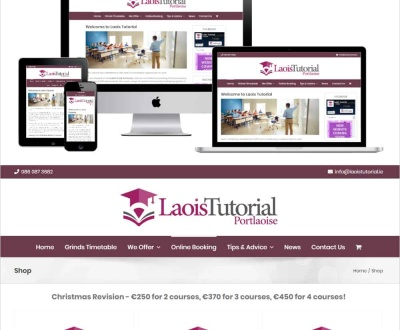 Laois Tutorial - New Ecommerce Website Launched