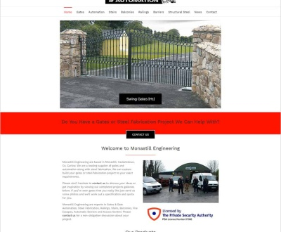 Monastill Engineering – New Website Launched