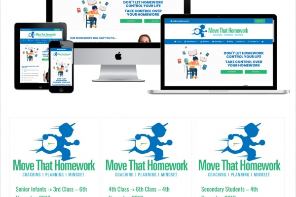 Move That Homework - New Website Launched