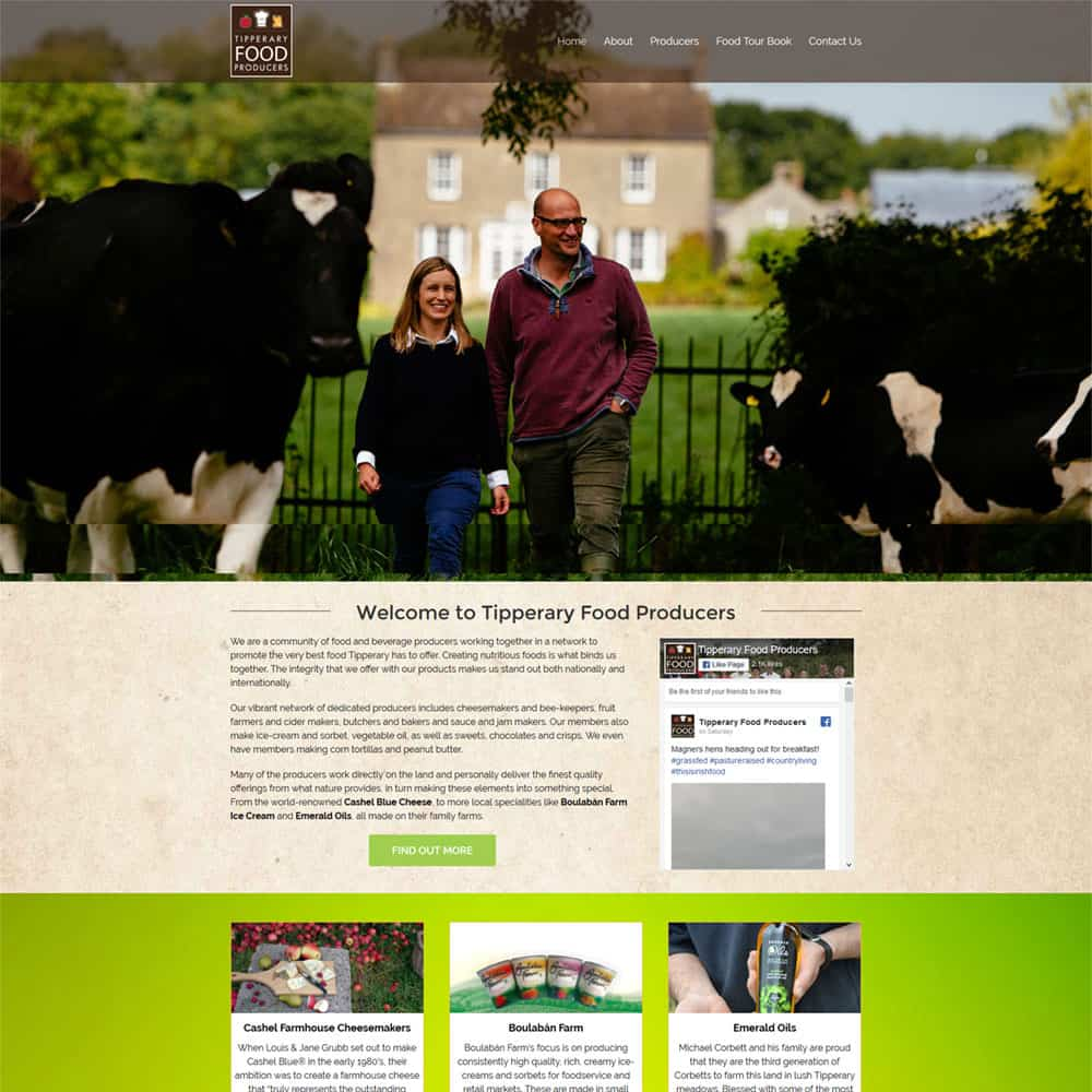 Tipperary Food Producers Network - New Website Launched